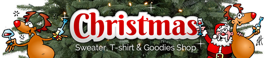 Christmas Sweater, T-shirt & Goodies Shop