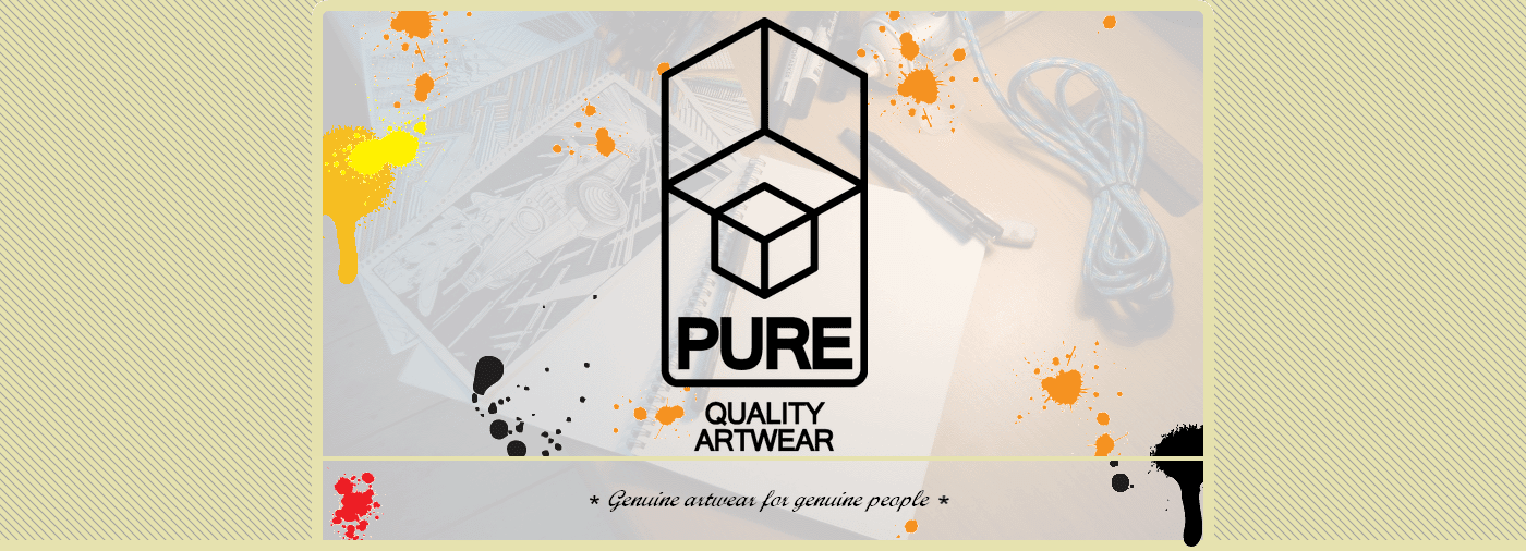 PURE ARTWEAR home page